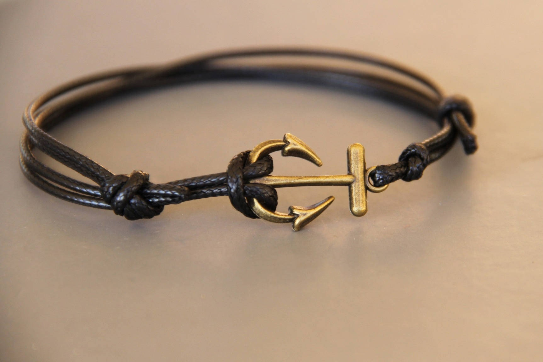 c993231f33b Mens anchor bracelet Navy cord adjustable small price.