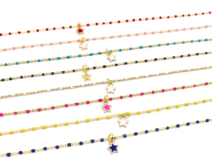 Featured listing image: Star Baby Chain Chokers - Solids