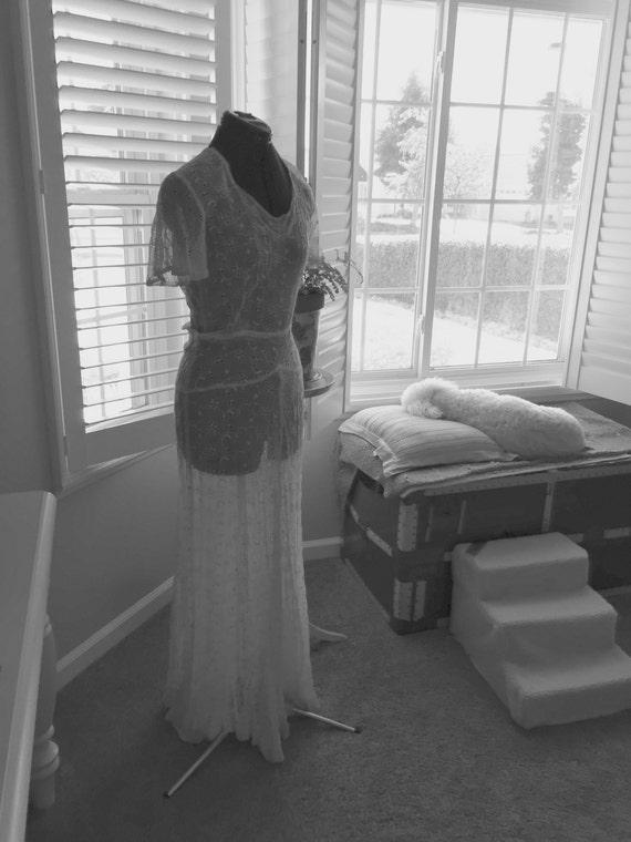 Vintage Dress 1920-30's Flapper Era Reduced Price