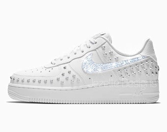 Swarovski Nike Air Force 1  07 XX for Women in Premium Leather f4d5a5d66cd3