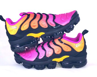 b485955dfe Swarovski Nike Air VaporMax Plus Shoes - Customized w/ Swarovski Crystals -  Bling Nike Shoes