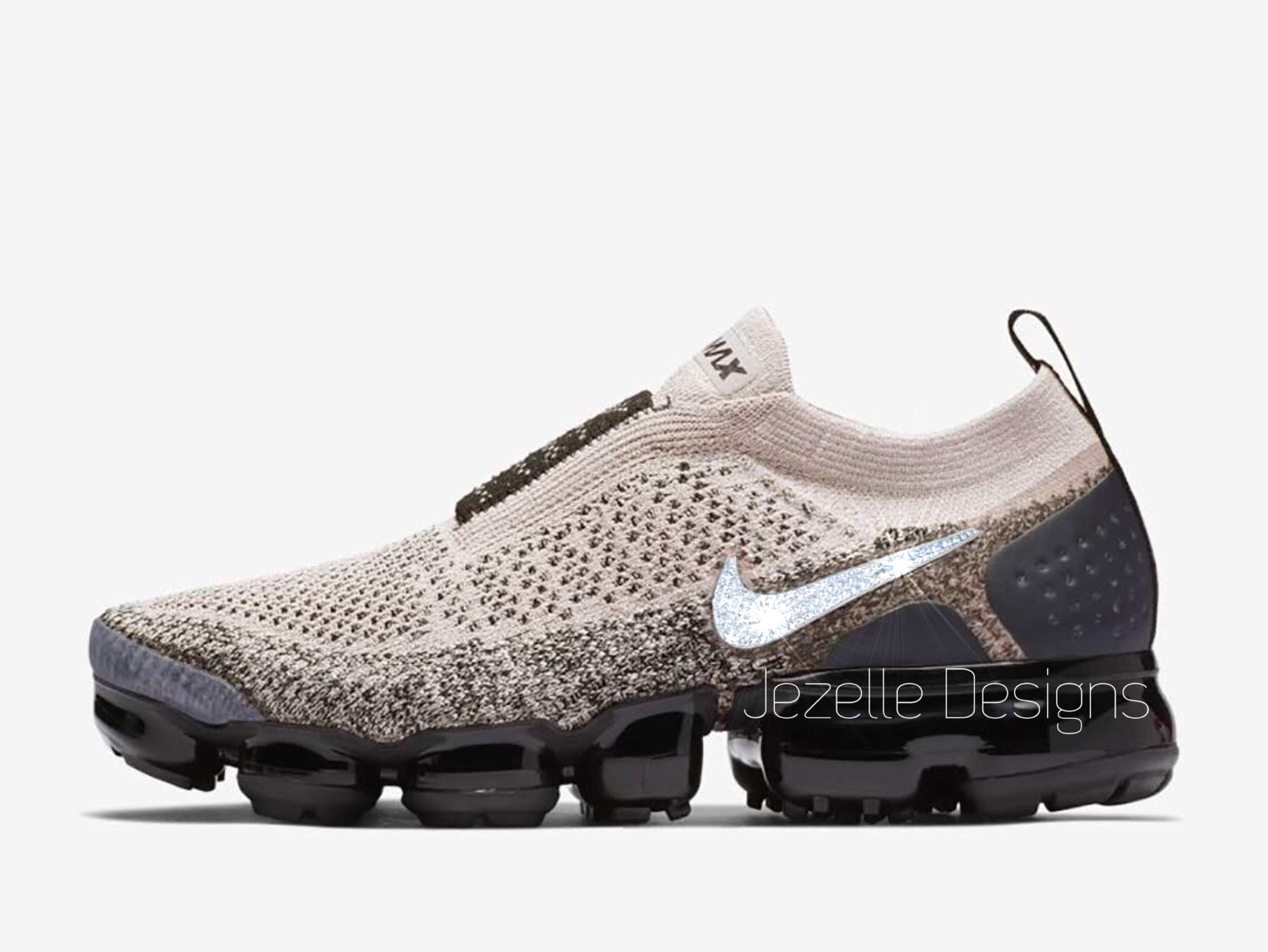 19699534fcf Swarovski Nike Air VaporMax Flyknit MOC 2 Running Shoes Custom