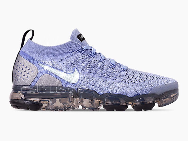 check out 4f4e6 efaa4 NEW Color! Swarovski Nike Women's Air VaporMax Flyknit 2 - Customized With  Swarovski Crystals, Bling Nike Shoes
