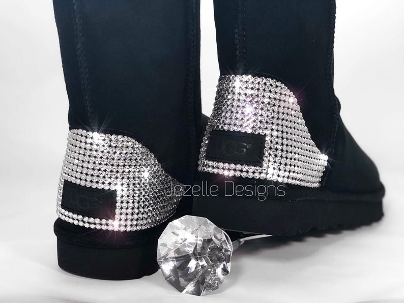42212511c94 CLASSIC TALL Swarovski Ugg Boots! Custom Hand Jeweled w/ over 1300  SWAROVSKI Crystals, Personalized Authentic Women's Bling Uggs