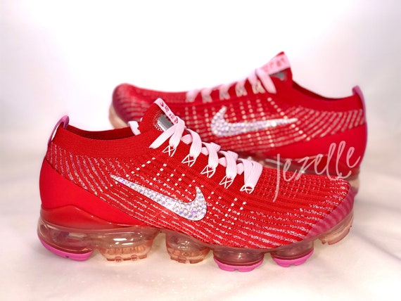 pink and red vapormax