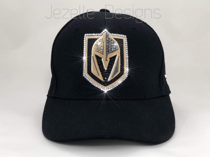 0cce0c79b7ab8 Bling NHL Vegas Golden Knights Hats   keychain   purse charm