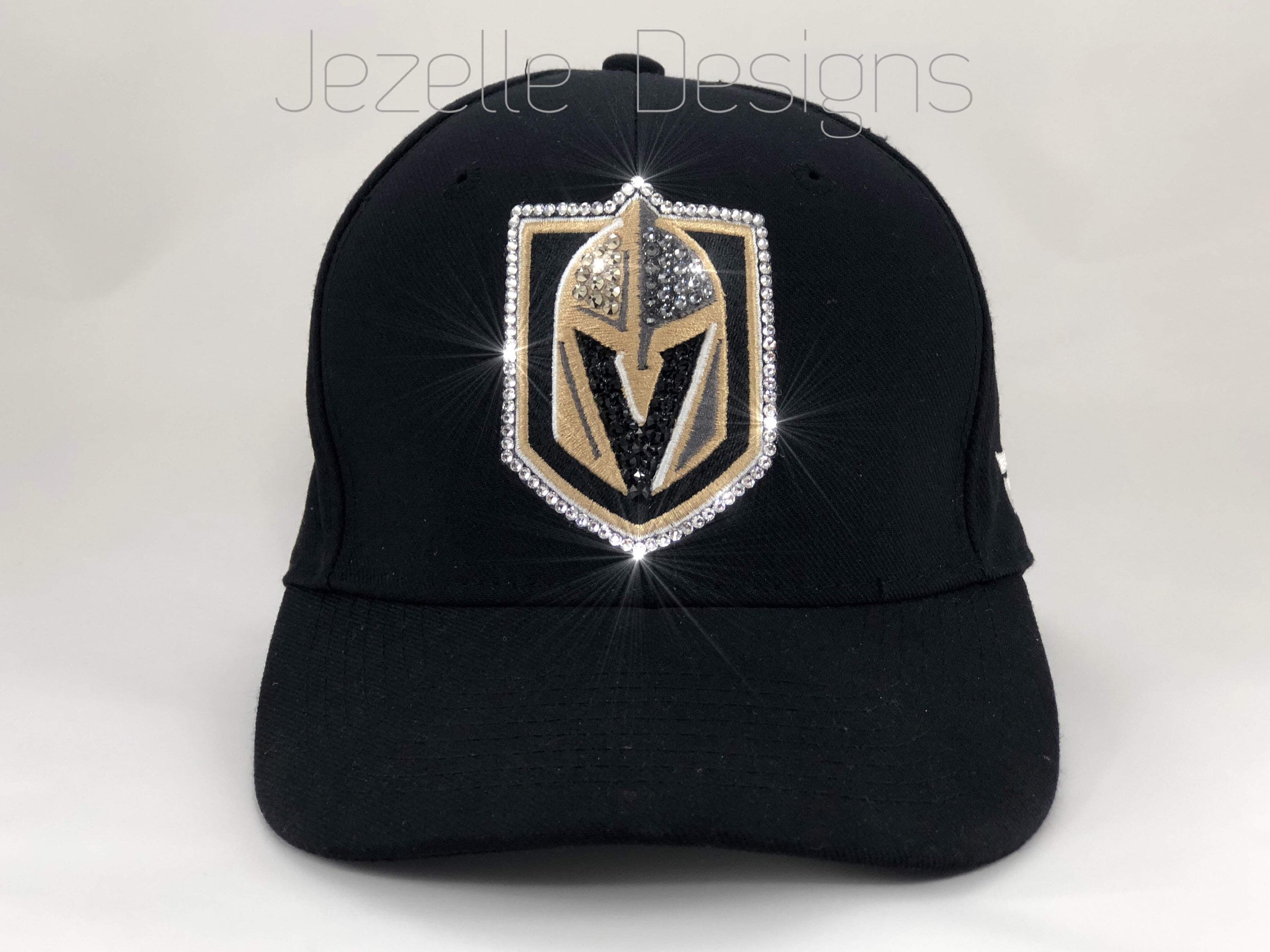 huge selection of e2fdf 6f7a6 ... reduced ready to ship bling nhl vegas golden knights hats etsy a46fe  f6677