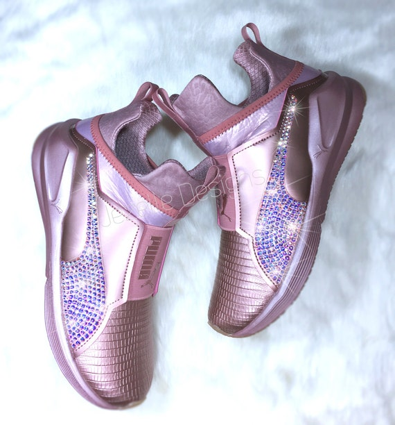 Rose gold Kylie Jenner Pumas , Good condition,