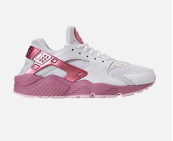 ON SALE Bling Nike Air Huarache Run Casual Shoes Custom Hand  7ea3364026