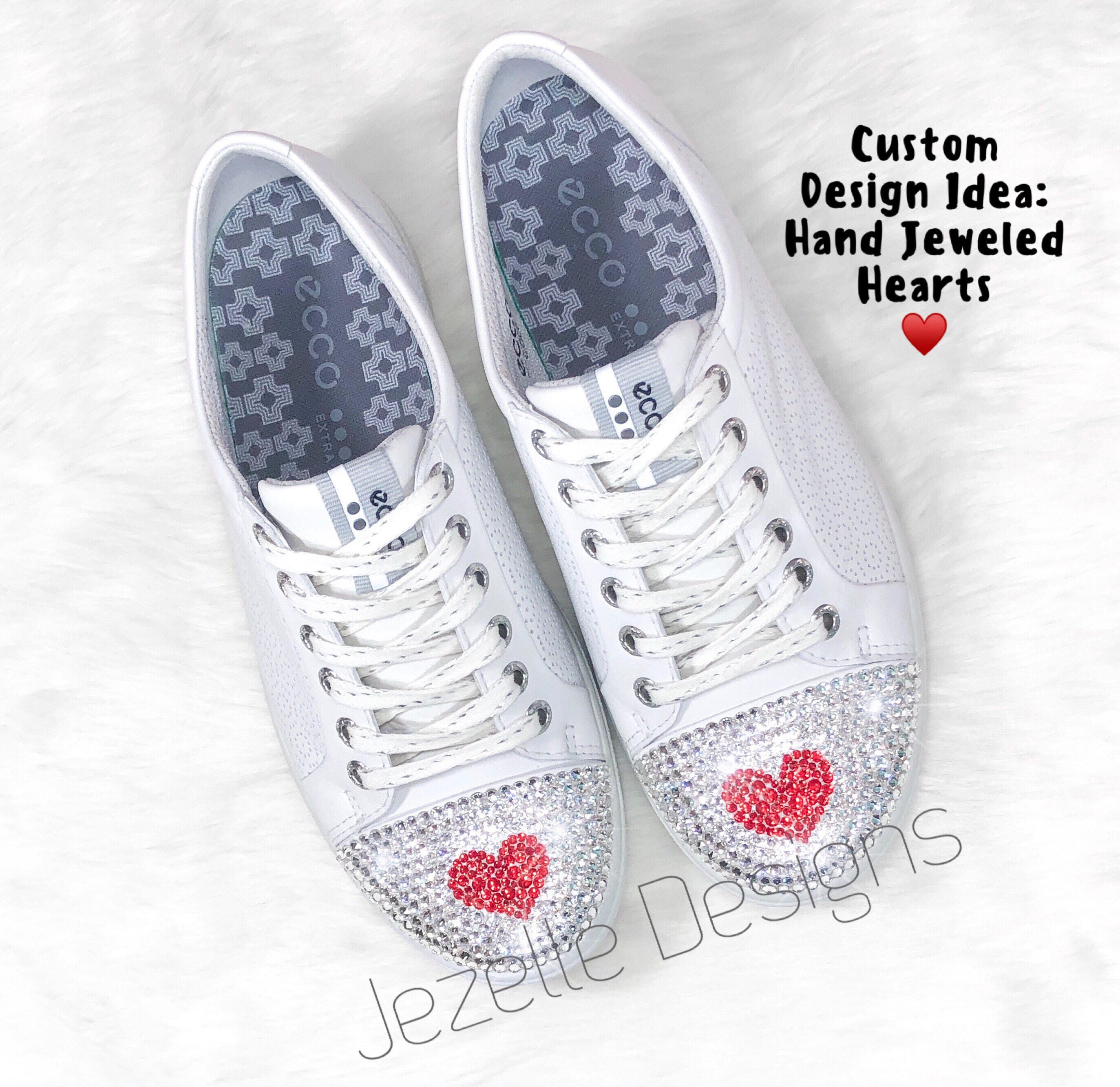 f23a3f9d5d131f Bling Wedding Converse Swarovski Crystals White Bedazzled