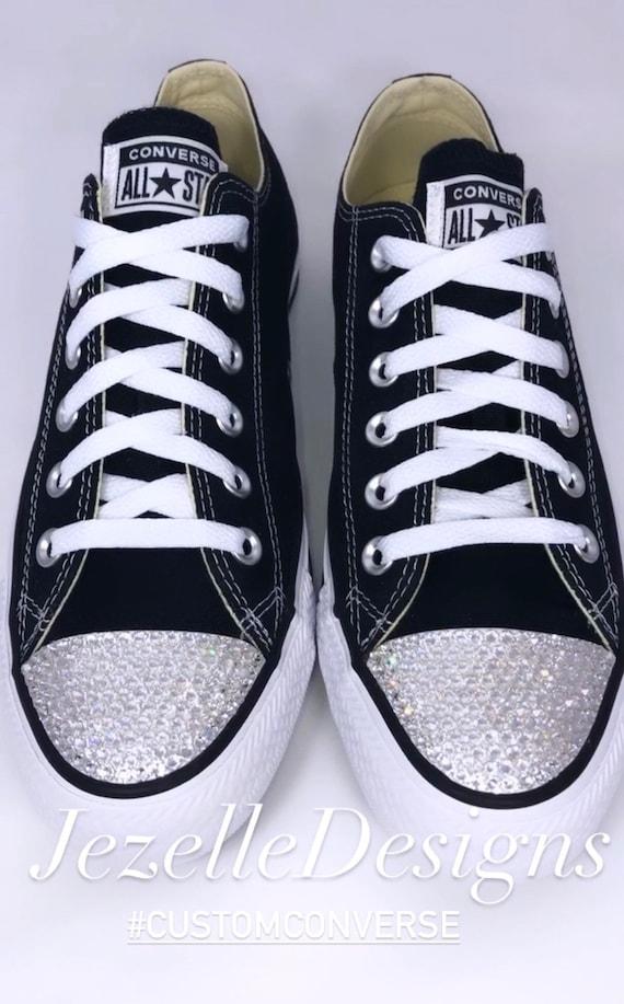 Bling Converse Glitter Kicks Bedazzled