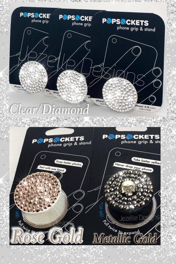 5b3a2410b1b8 Bling PopSockets Swarovski Crystal Cell Phone Accessories