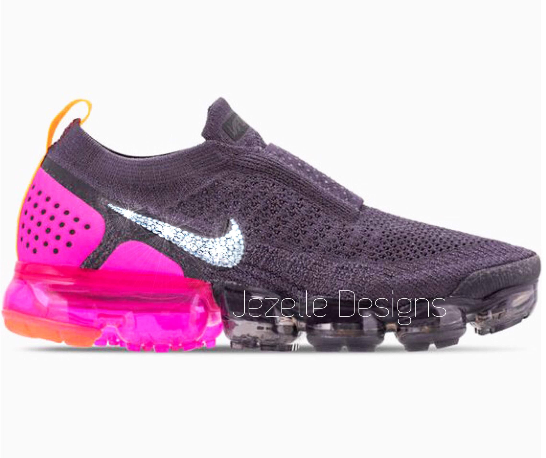 2ef97694f8e1c Swarovski Nike Air VaporMax Flyknit MOC 2 Running Shoes Custom