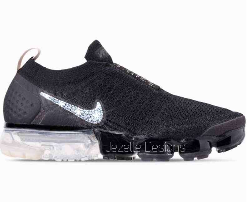 2d45284d88e9 Swarovski Nike Air VaporMax Flyknit MOC 2 Customized With