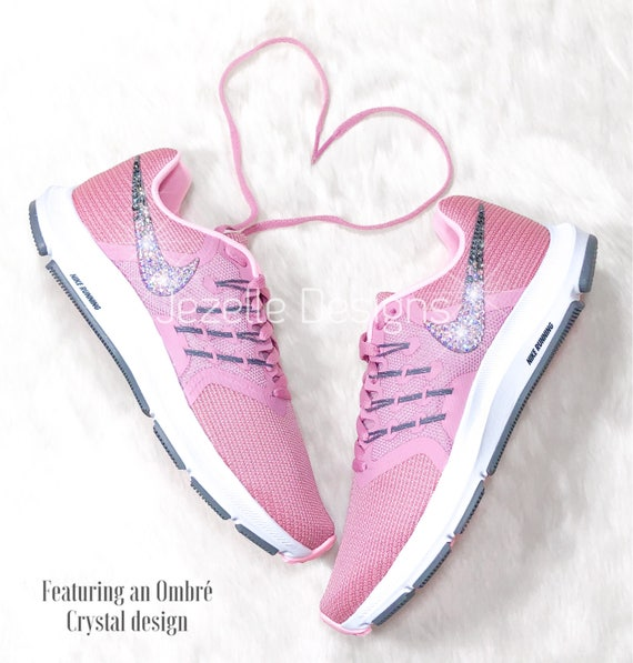NEW Bling Nike Shoes in Pink Nike Run Swift Women s  4199a4416