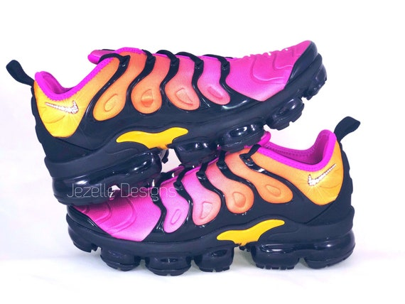 shopping best choice high fashion Swarovski Nike Air VaporMax Plus Shoes - Customized w/ Swarovski Crystals -  Bling Nike Shoes