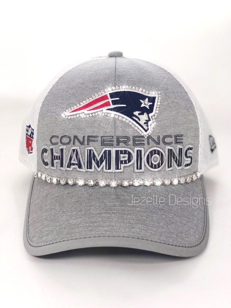 02ef4208ca8 Swarovski New England Patriots Hat Sports Caps w  Swarovski