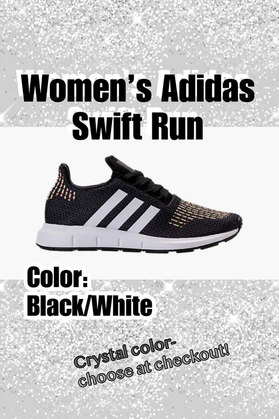 4d4ff6a31cf2c Items similar to Bling Adidas Swift Run Primeknit Casual Shoes for ...