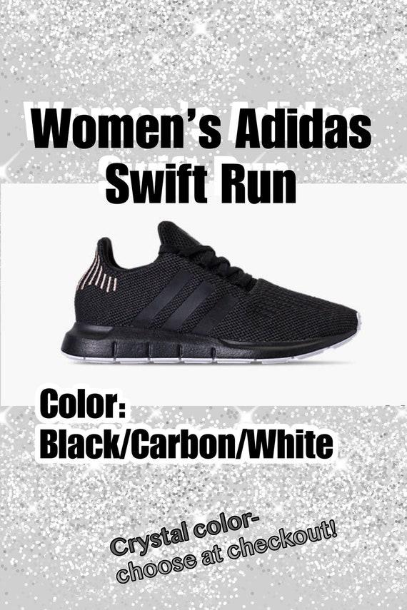 8ec02b05c Bling Adidas Swift Run Primeknit Casual Shoes for Women Custom