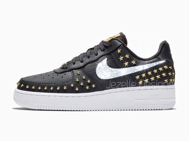 Swarovski Nike Air Force 1  07 XX Women Premium Leather  1a5ddb28143e