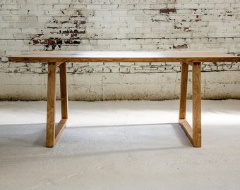 Oak dining table | Etsy