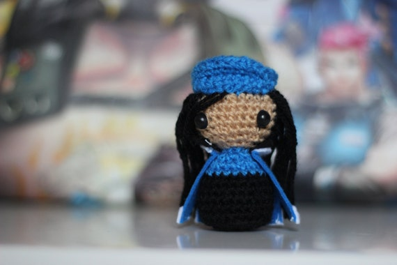 My fiance just made this D.va Overwatch crochet amigurumi! - Album ... | 380x570