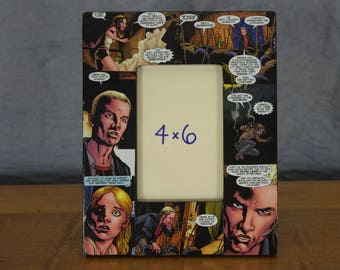 Buffy and Spike picture frame 4 x 6