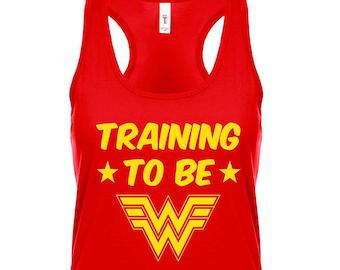 36cfa1cf62dda5 Training to be Wonder Woman - Workout Tank Top
