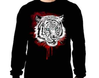 Tiger blood splatter dripping VDD Exclusive Tiger Black