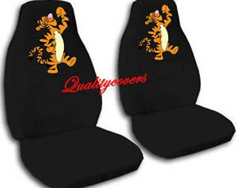 Tigger Car Seat CoversAny Colour CoversWe Make For All Cars