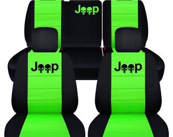 Sitzbezug Sitzbez/üge mit besticktem Logo paar 2 St/ück