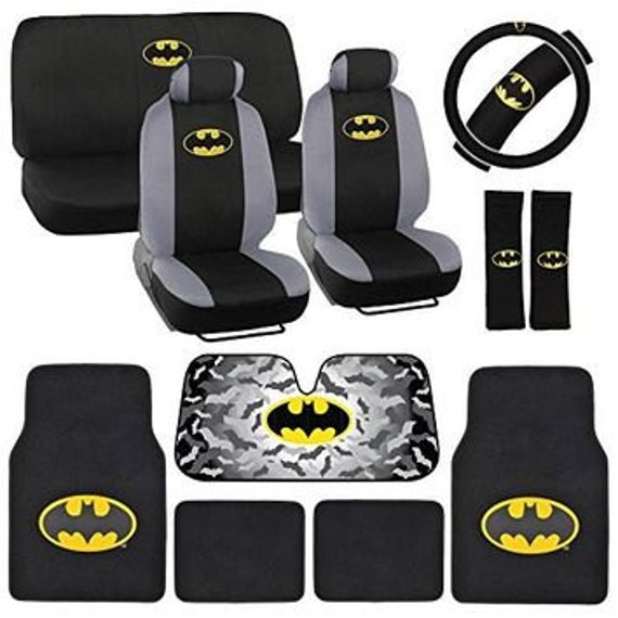 Batman Seat CoversChoose Any Colour CoversWe Make For All Makes Models Of Cars