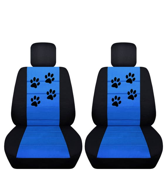Paw Prints Car Seat CoversAny Middle Colour InsertNEW