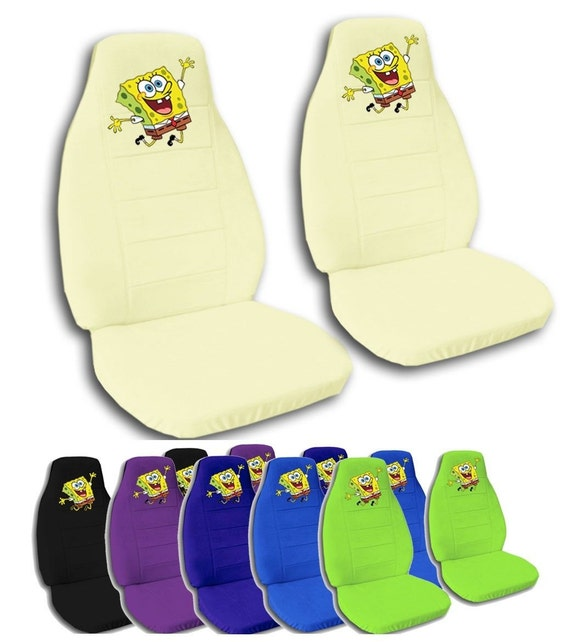 Spongebob Car Seat Covers Many, Customized Car Seat Cover Philippines