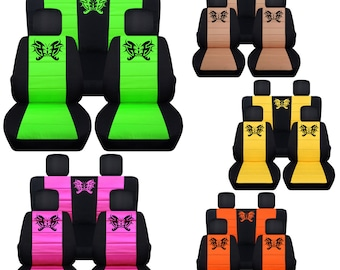 Butterfly Car Seat Covers....AnyMiddle Colour Insert..We Make For All Cars
