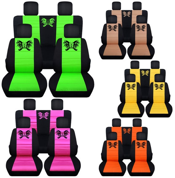 Butterfly Car Seat CoversAnyMiddle Colour InsertWe Make