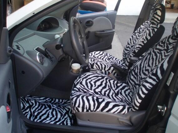 Zebra Car Seat CoversWe Make For All Cars