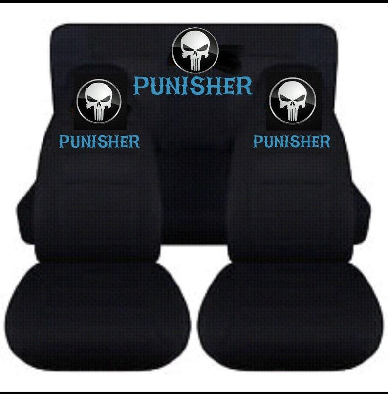 a09c6aae8dd6 Coprisedili di Punisher... Scegliere qualsiasi colore... Tutte