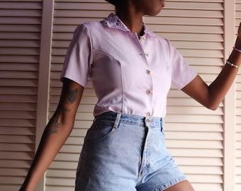 Vintage 90s Blouse L