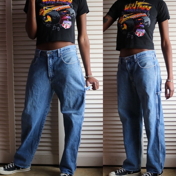 Vintage Baggy Nautica Carpenter Jeans