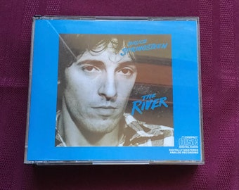 Bruce Springsteen  - The River Double CD/ Classic Rock/ Vintage Compact Disc/The Boss