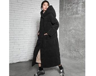 8aae02675 Long down coat   Etsy