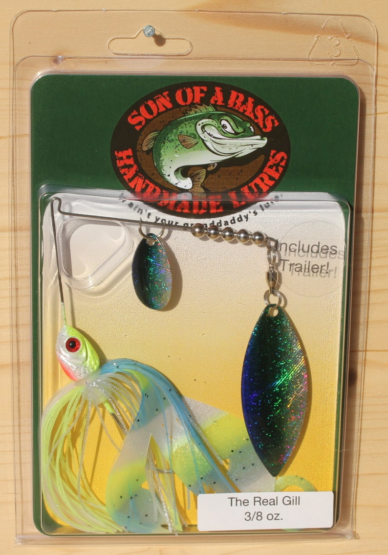 Son of a Bass The Real Gill Spinnerbait Fishing Lure