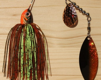 Son of a Bass The Crazy Crawdad Spinnerbait Fishing Lure