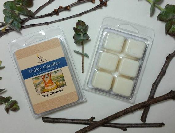 Nag Champa Soy Wax Melt, Soy & Botancal Oil Candles