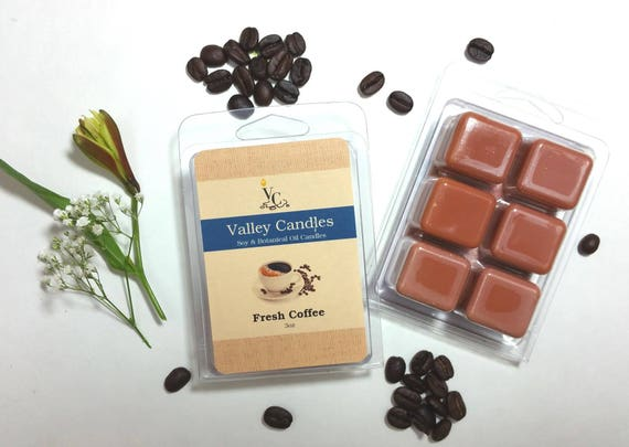 Fresh Coffee Melts, Soy & Botanical Oil Candles