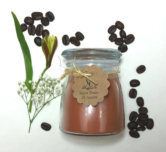 Fresh Coffee 4oz, 25-hour, Soy & Botanical Oil Candles**3.00 SHIPPING**
