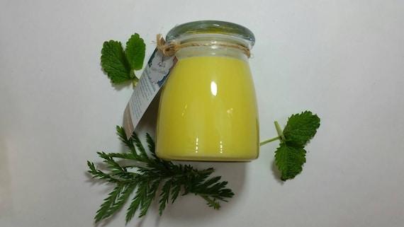 Lemon Verbena 14oz, 70-hour, Soy & Botanical Oil Candle**4.00 SHIPPING**