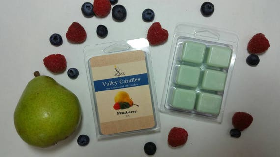 Pearberry Wax Melt, Soy & Botanical Oil Candles