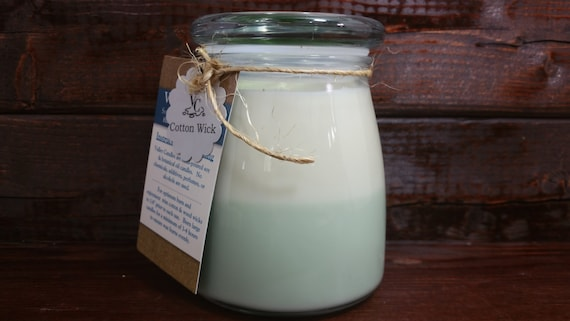 Coconut Lime 14oz, 70-hour, Soy & Botanical Oil Candles ***3.00 SHIPPING***